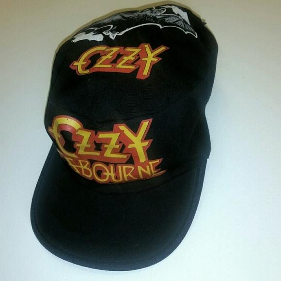 016d82162456f 1982 Vintage Deadstock Ozzy Osbourne painters cap!